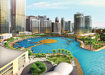 Reem Island ... concept masterplan by Bunya.