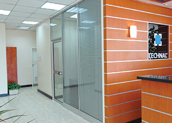 Opale ... installed at Technal Middle East's office in Bahrain.