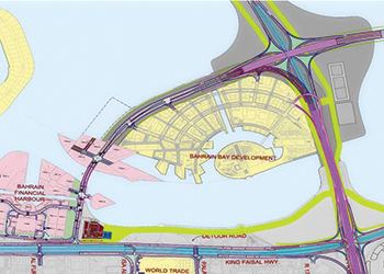 The causeway will connect Bahrain Bay directly with Busaiteen.