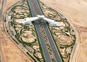 The Old Makkah-Jeddah Highway  ... being expanded.