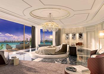 Sweden villas ... furniture inspired by the design philosophy  of Bentley car interiors.
