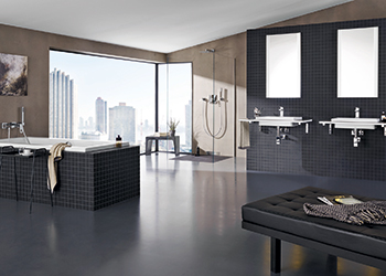Latest innovations... the Eurocube bath collection.