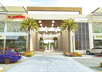 Galleria ... set to open doors in February.