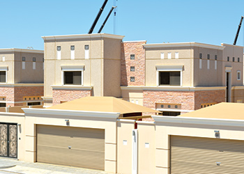 QDC caters to the huge demand for residential compounds.