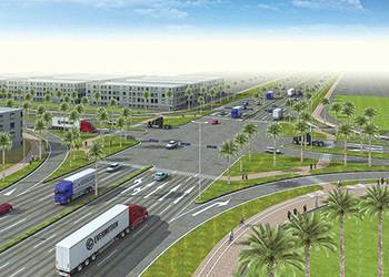 A concept of Doha Industrial Area Package Two.