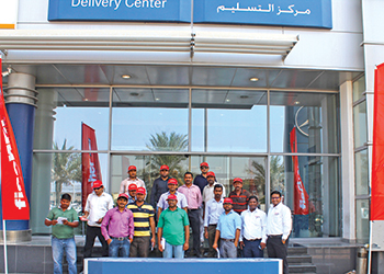 Fischer's new office ... launched in Abu Dhabi.