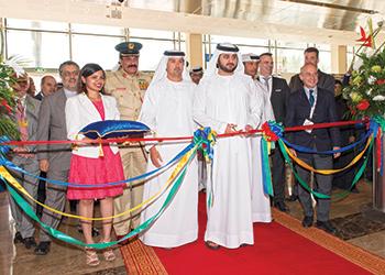 Sheikh Maktoum bin Mohammed binRashid Al Maktoum, the deputy ruler of Dubai, inaugurated last year's show.
