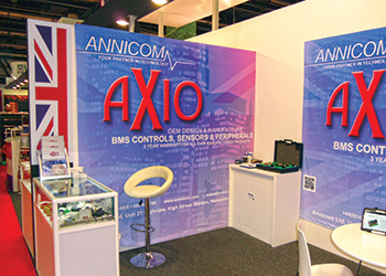 Annicom's stand at last year's expo.
