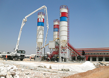 PI Makina has supplied a range of concrete plant to the region.
