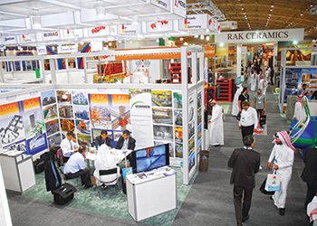 Saudi Build 2014 ... drew 23,215 visitors.