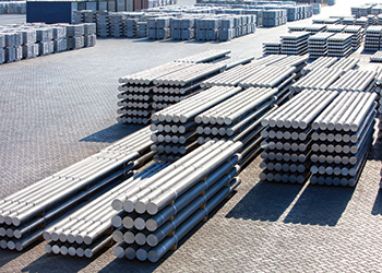 Some 80 per cent of Gulf Extrusions' output goes to the construction sector.