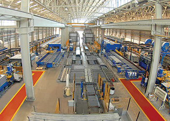 Gulf Extrusions ... increasing its production capacity by 50 per cent.