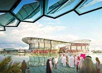 Lusail Stadium ... 80,000 capacity.