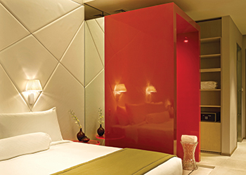 In the Middle East, lighting accounts for some 30 per cent of energy consumption in hotels.