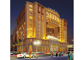 An artist's impression of Coral Al Madina Hotel.