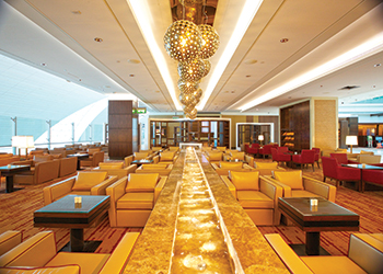 Dubai International Airport ... S&T created 8,000 pieces of furniture for the project.