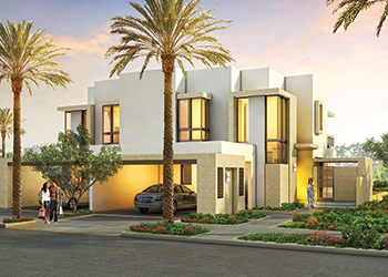 Maple Two townhouses at Dubai Hills Estate.