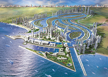 Sharjah Waterfront City ... an overview.