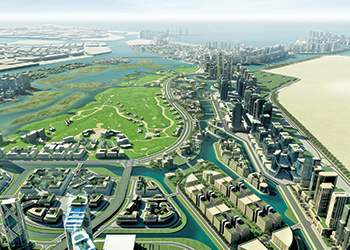 Al Zorah ... $544m development under way in Ajman.