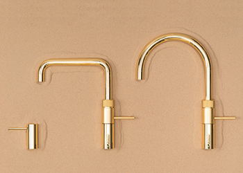 A sample of the gold plated taps.