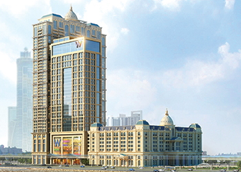 Al Habtoor City ... the St Regis Dubai will be the first hotel to open within the destination.