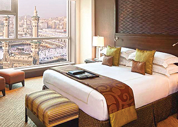 An artist's impression of one of the rooms at the Fairmont.