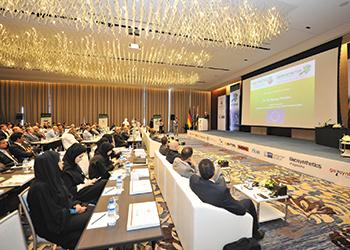 Delegates at GeoME ... key event.