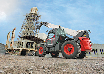 The T40180 ... put to good use by operators in Oman.