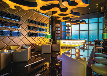 The Sofitel Dubai ... designed by Wilson Associates.