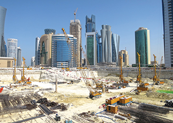 Mozoon Towers ... one of Bauer's key projects currently under way.