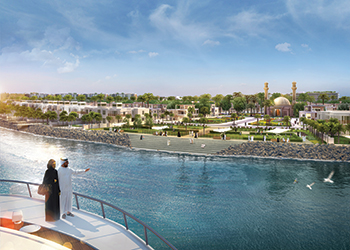 Seafront residential plots in Al Bareh ... luxury living.