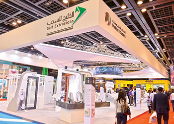 Gulf Extrusion's stand at The Big 5 2015.