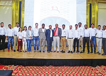 Fischer's anniversary celebration ... in Qatar.