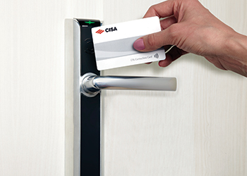 Electronic key cards ... from CISA.