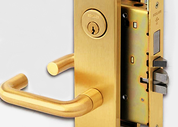 Schlage locks ... manufactured to American standards.