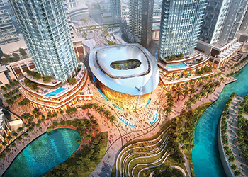 "Dubai Opera House ... Sanipex was ""the natural choice for the project""."