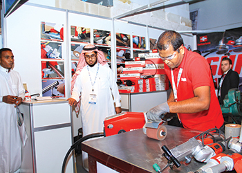 Exhibitors showcased their innovations at last year's event.
