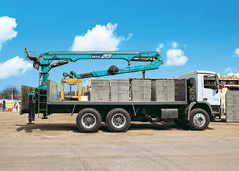 Dongyang truck-mounted cranes ... part of SDEC's portfolio.