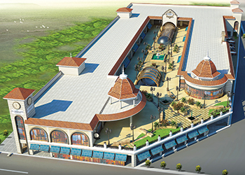 An artist's impression of El Mercado Janabiya.