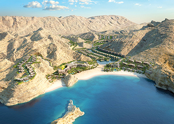 Saraya Bandar Jissah ... a $600-million integrated tourism complex under construction.