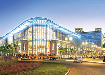 The Al Kout mall ... a rendition.