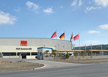 ACO Systems facility in Dubai.