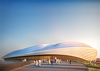 Al Wakrah Stadium.