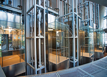 Kone supplied a wide range of elevators for the Doha Tower in Qatar.