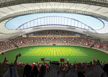 Khalifa International Stadium ... due for completion this year.