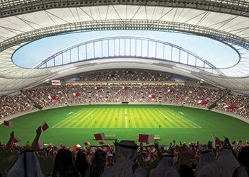Khalifa International Stadium ... due for completion this year.