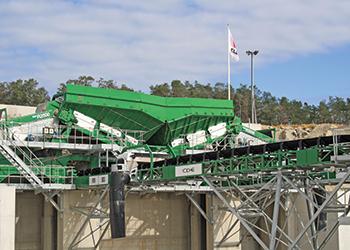 The 300 tph plant installed for Velde Pukk.