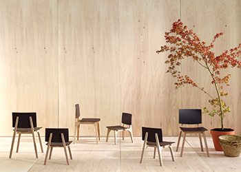 Mikado chairs by Ondarreta.