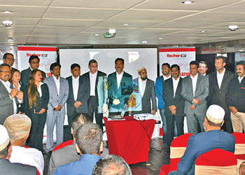 Fischer officials and its business partners at the event ... playing a key role.