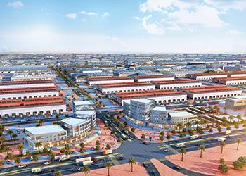 Dubai Wholesale City ... world's largest.